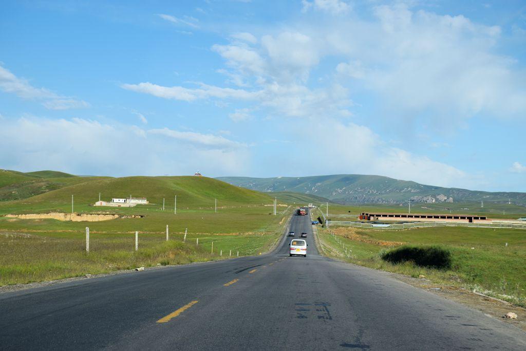g高速沿途风景