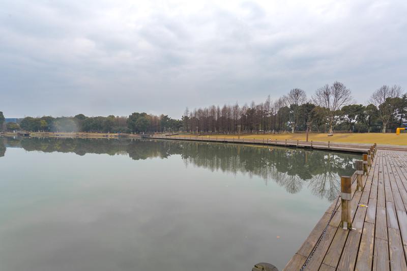 苏州东沙湖公园风景