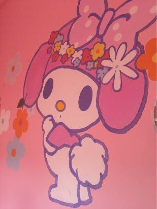 手绘粉色系猫咪头像