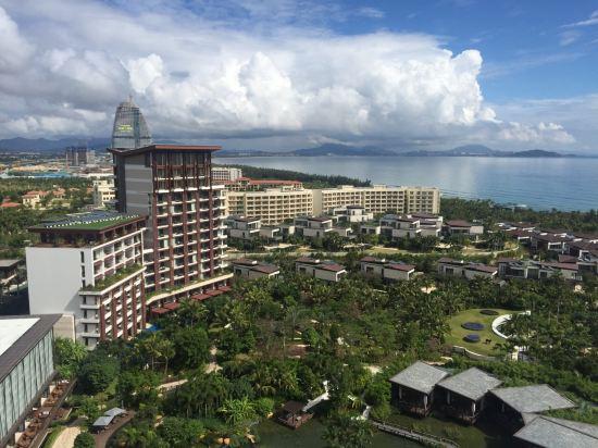 三亚海棠湾君悦酒店地图交通