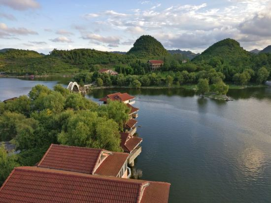 百花湖风景图片