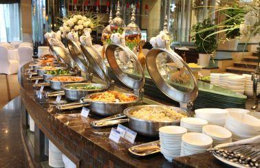 会议自助餐  57/人/份 4款菜单,任意挑选,凉菜,饮品,点心,水果,蔬菜