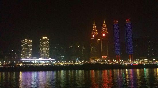 重庆南滨路风景区城市夜景酒店
