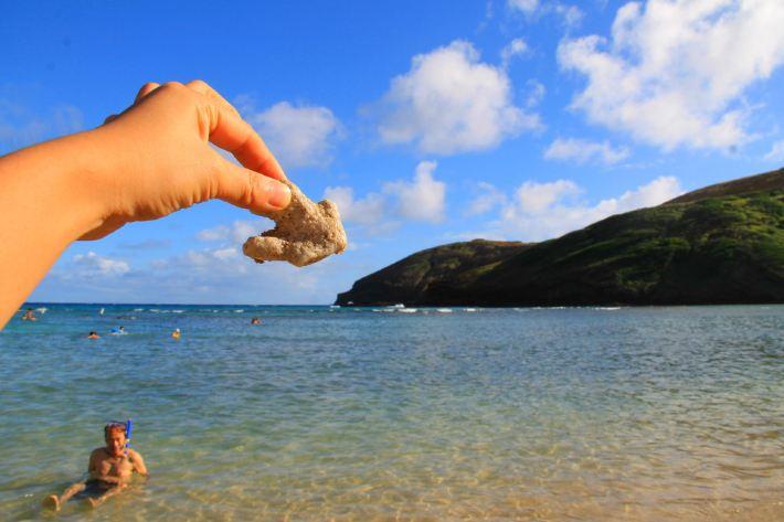 超级简单沙滩风景素描