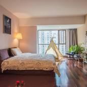 昆明北市區全實木大單間舒適衛浴高景觀酒店式公寓