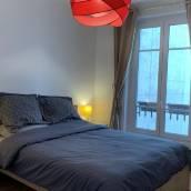 巴黎左岸2室1廳全新高性價客房可住5人